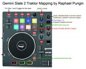 Gemini Slate 2 Trakor Mapping